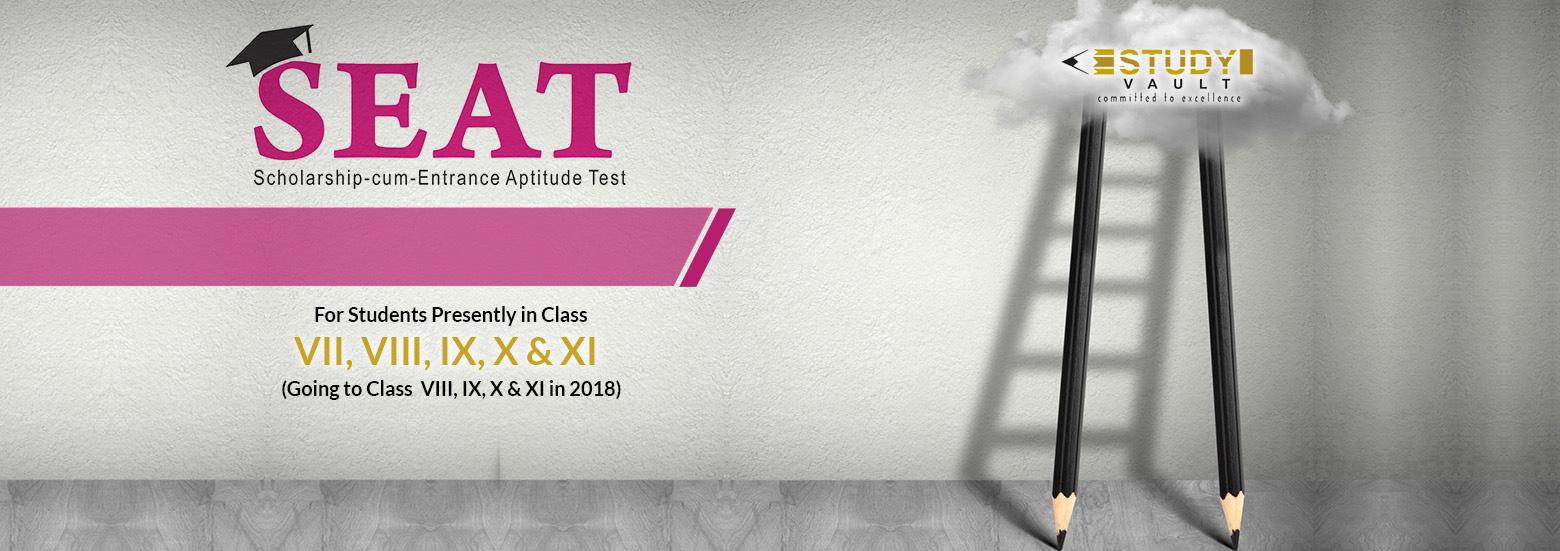 SEAT Scholarship-cum-Entrance Aptitude Test by Study Vault Education