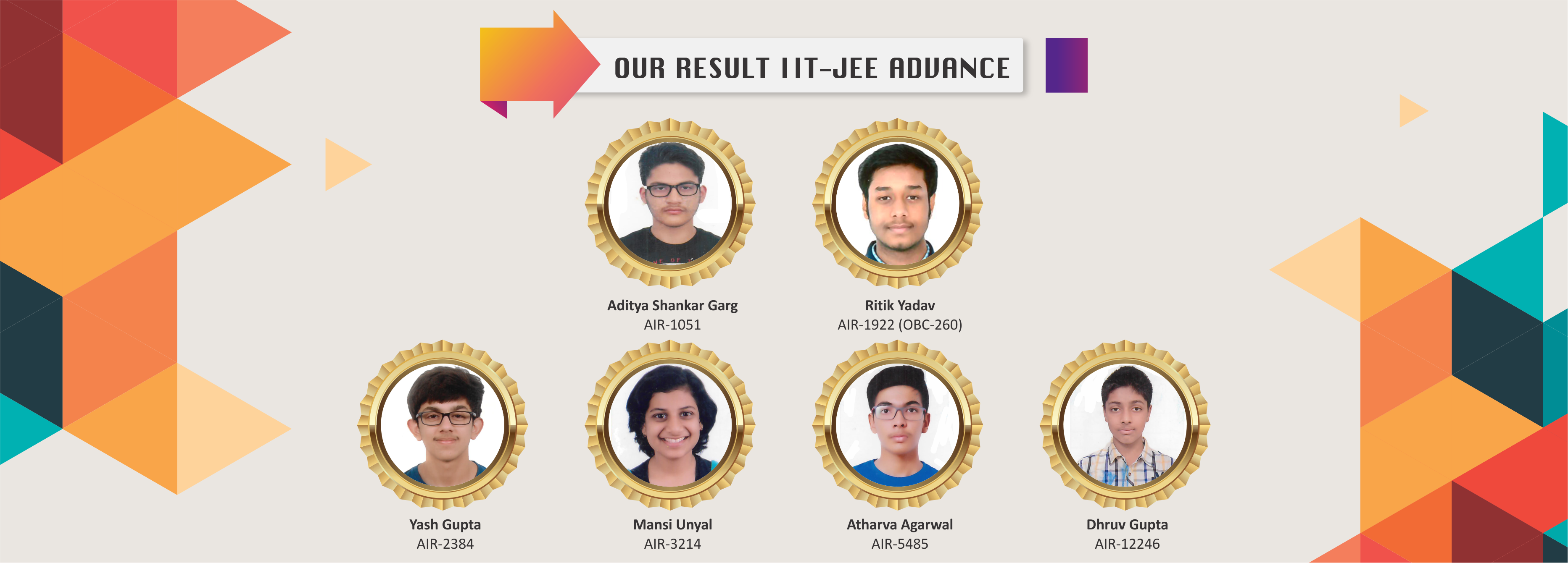 Best Results - Board Exams and Competitive Entrance Tests